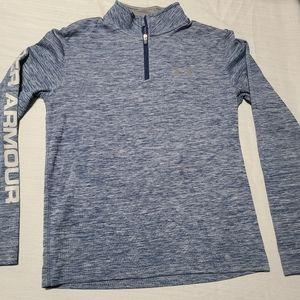 Under Armour boys quarter zip pullover